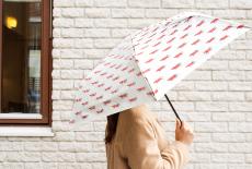 マイキー柄の折りたたみ傘