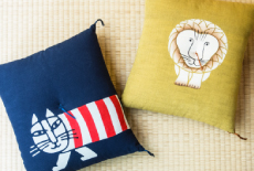 リサ・ラーソンの本縫い座布団