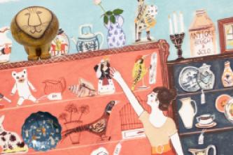 渋谷ヒカリエで「My Sweet Ceramic Girls  ~リサ・ラーソンと陶芸3人娘~ 」を開催します!
