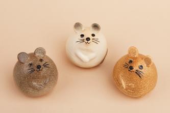 いよいよ新作陶器「3匹のねずみ」が発売!